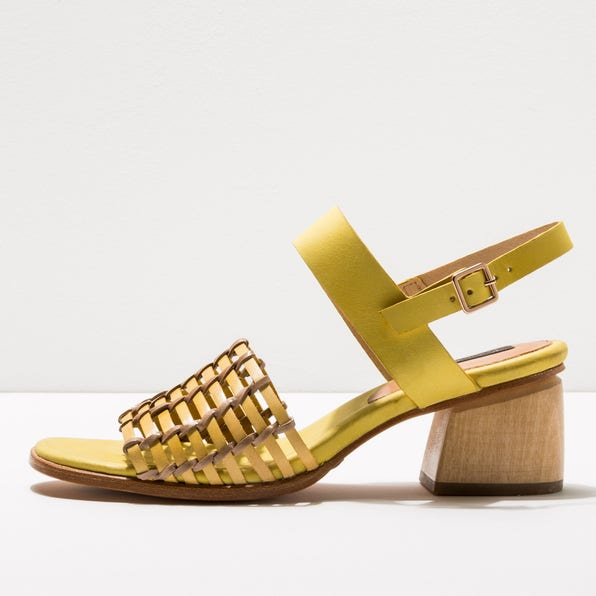 S3145 BRAIDED YELLOW / VERDISO